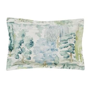 Waterperry Oxford pillowcase, L48 x W74cm, mint