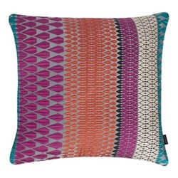 Calypso Large square cushion, 56 x 56cm, multi-coloured