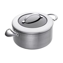 CTX Dutch oven with lid, 3.5 litre - D20cm, ceramic titanium