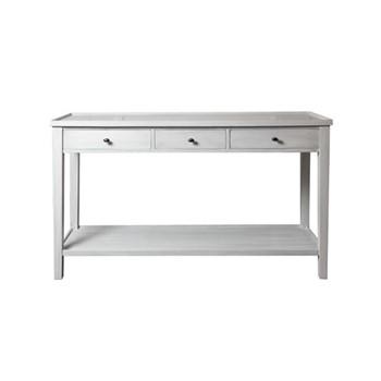 William Console, W145 x D45 x H83cm, soft grey