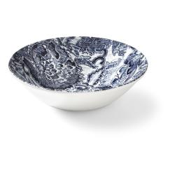 Burleigh - Faded Peony Cereal bowl, 17 x 5cm, Indigo