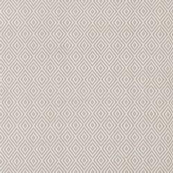 Petit Diamond Polypropylene indoor/outdoor rug, W76 x L244cm, platinum