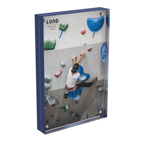 Skittle Magnet frame, H10 x W15cm, Indigo