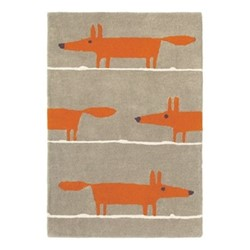 Mr Fox Rug, W140 x L200cm, cinnamon
