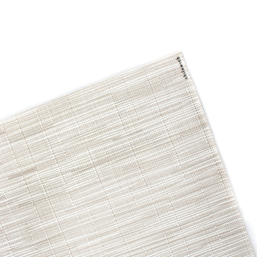 Bamboo Set of 4 rectangular placemats, W36 x L48cm, Coconut