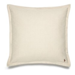 Oxford Square pillow sham, 65 x 65cm, sand
