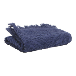 Zoe Maxi bath towel, 100 x 180cm, Marine