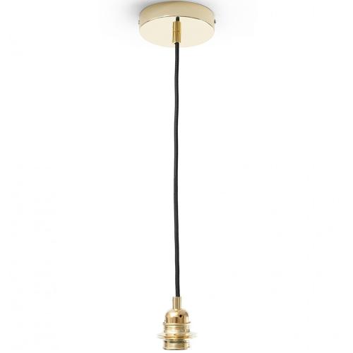 Hindustan Anthracite Pendant Lamp, H28 x Dia45cm