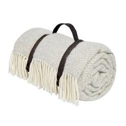 Wool picnic blanket W145 x L165cm