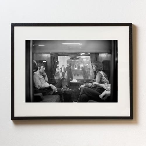 First Class Travel Framed photograph, H56 x W71cm