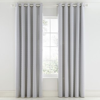 Pajaro Curtains, L183 x W168cm, steel