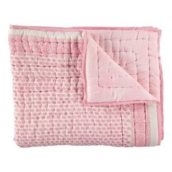 Elephant Single quilt, 150 x 230cm, pink 200 thread count cotton