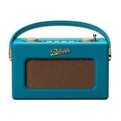 Revival Uno DAB/DAB+/FM digital radio with alarm, H14 x W21 x D9cm, teal blue
