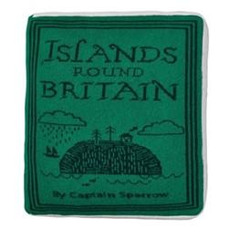 Islands Book Cushion, L42 x H42cm