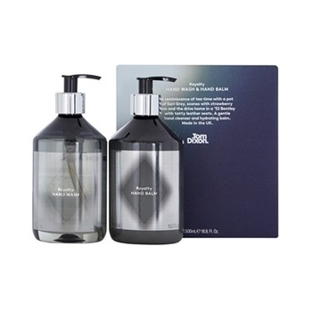 Royalty Hand duo gift set, 2 x 500ml, black & silver