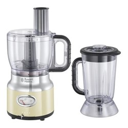Retro - 25182 Food processor, cream