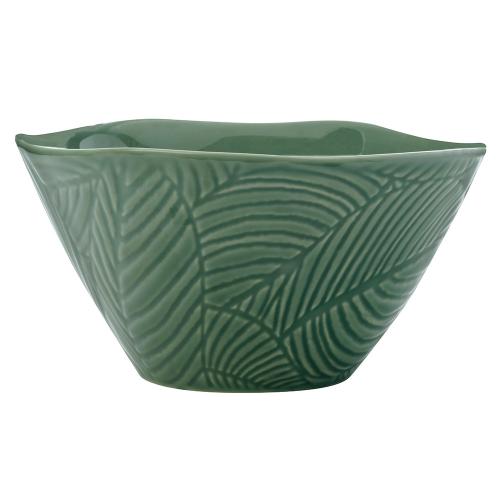 Panama Panama Stoneware 15cm Conical Bowl Kiwi Gift Boxed, Green