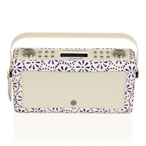 Hepburn MkII - Emma Bridgewater Radio, 31 x 17 x 9cm, Blue Daisy