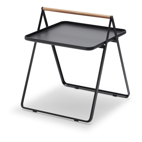 By Your Side Table, L42 x W43 x H49cm, Anthracite Black