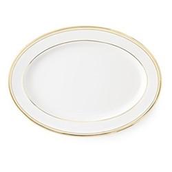 Wilshire Oval platter, gold