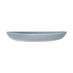 Shell Bisque Salad serving bowl, D35cm, blue