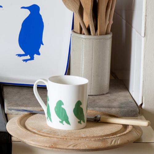 Parakeet Mug, Dia8.5 x H9cm - 1 pint