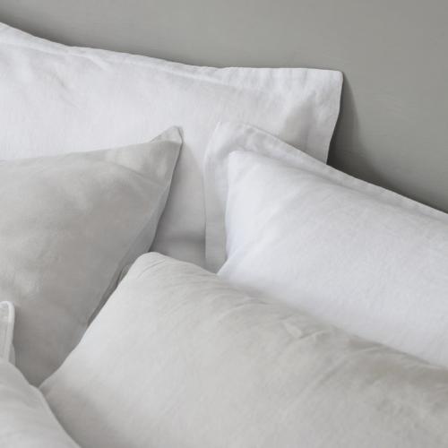 Oxford pillowcase, 50 x 75cm, Toulon Dove Grey