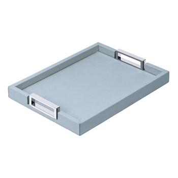 Victor Rectangular tray, 27.5 x 38cm, sky