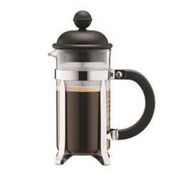 Caffettiera 3 cup coffee maker, 35cl, black