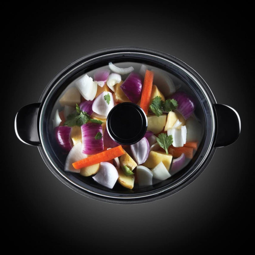 Slow cooker, 3.5L, stainless steel