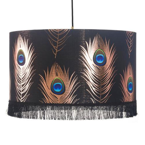 Peacock Feathers Pendant Lamp, H22 x Dia35cm