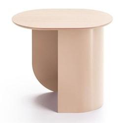 Plateau Side table, 32 x 39.5 x 44cm, sand/ash