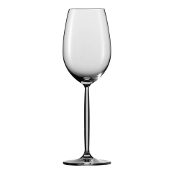 Diva Set of 6 white wine glasses, 30.2cl
