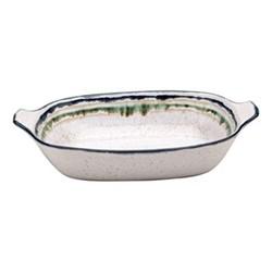 Sausalito Large rectangular baker, 42cm, white