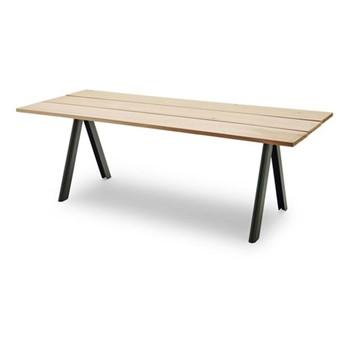 Overlap Table, L220 x W90 x H74cm, hunter green