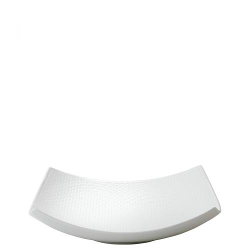 Gio Sculptural bowl, White/ Bone China