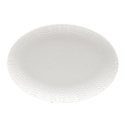 Corail Pair of pickle dishes, 24cm, white