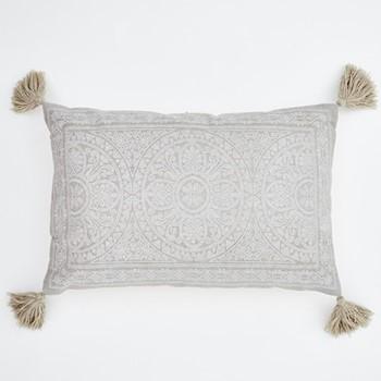 Kas Cushion, L60 x W40cm, chinchilla