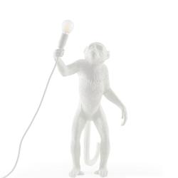 Monkey - Standing Lamp, H54cm, resin