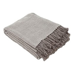 Diamond Throw, L230 x W130cm, tabby