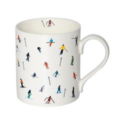 Marker Ski Mug, H9.5 x W10.5 x D8.5cm - 35cl, multi