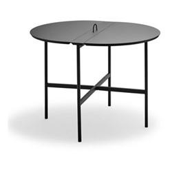 Picnic Table, L105 x W85 x H73cm, anthracite black