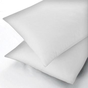 300 Thread Count Plain Dye Large standard pillowcase, L48 x W74cm, white