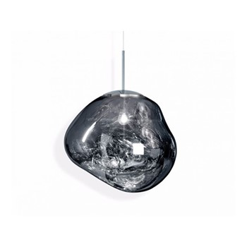 Melt Hanging pendant, H32 x L48 x W48cm, chrome