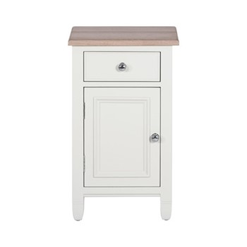 Chichester Bedside cabinet (left), W43 x D38.5 x H72cm, shell