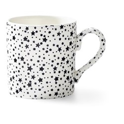 Burleigh - Midnight Sky Mug, 12 x 9 x 9cm - 375ml, light black