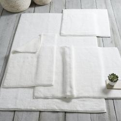 Ile de Re Bath mat, 70 x 110cm, White