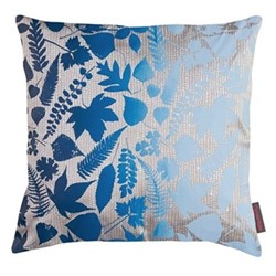 Falling Leaves Cushion, 45 x 45cm, pebble/midnight ombre