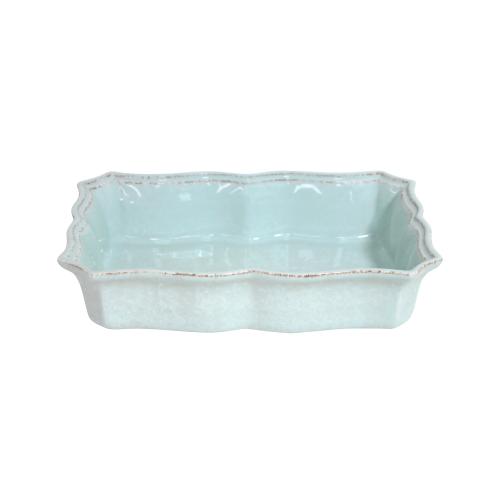Impressions Medium rectangular baker, L30 x W21 x H6cm, turquoise