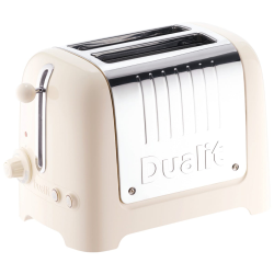 Lite 2 slot toaster, Canvas White
